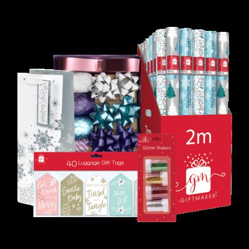 Christmas Bags, Wrap & Bows