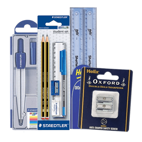 Erasers, Sharpeners & Rulers
