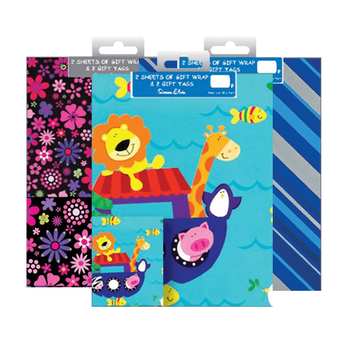 Gift Wrap & Tag Set