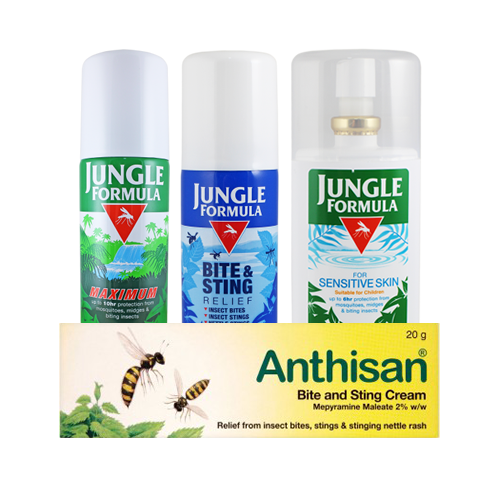 Insect Repellent & Bite / Sting Relief