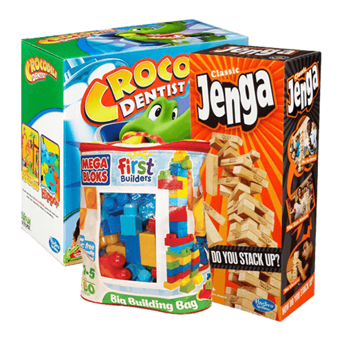 Jigsaws, Games & Puzzles