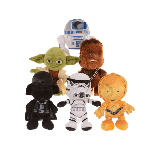 Licensed Soft Toys