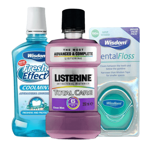 Mouthwash & Floss