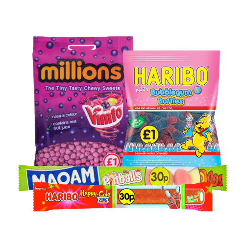 Price Marked Confectionery Packs