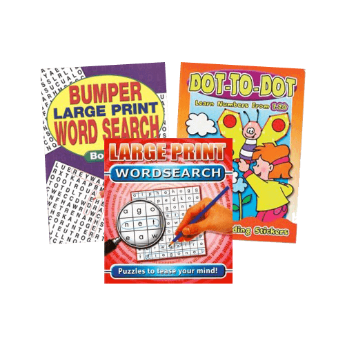 Puzzle & Activity Books