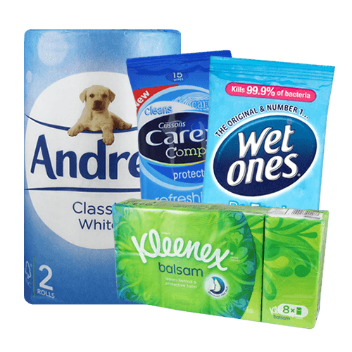 Tissues & Moist Wipes
