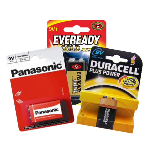 6V/9V Batteries