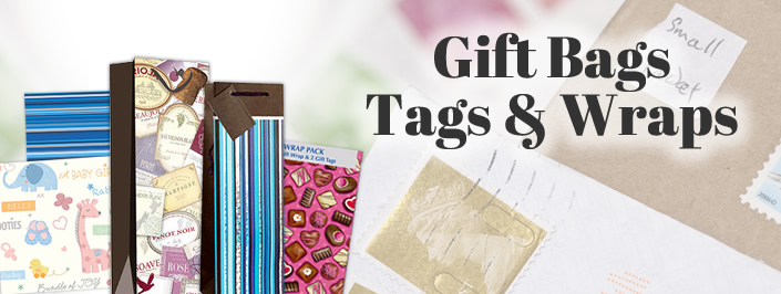 Gift Bags, Tags & Wrap
