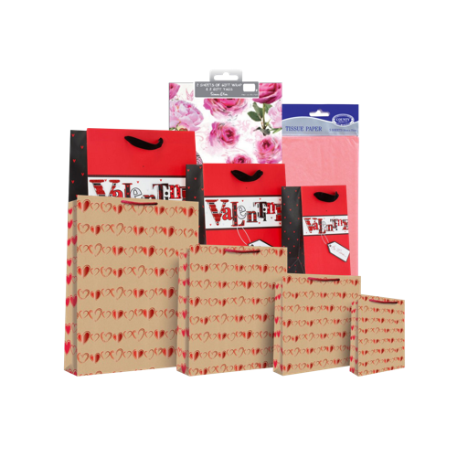 Gift Bags, Wrap & Bows