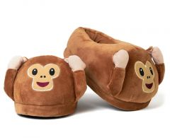 Emoji Foot Cushions - Monkey Size Small 1-4 Approx.