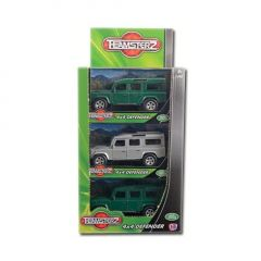 Teamsterz 4 x 4 Defender Land Rover Boxed CDU