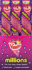 Millions Tubes Vimto Flavour Sweets 55g