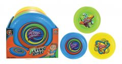 "Frisbee 25cm (10"") Assorted Colours CDU"