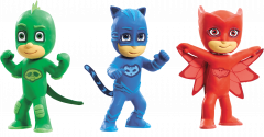 Plasticine Softeez PJ Masks Figures in CDU
