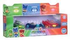 PJ Masks Metal Hero Vehicles 3 Pack
