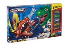 Teamsterz Dino Track Set Includes 5 Cars