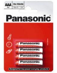 Panasonic Special Zinc Batteries AAA Card of 4