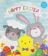 Easter Characters Gift Bag Medium