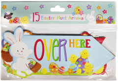 Easter Arrow Signs 15 Pieces Hang Pack