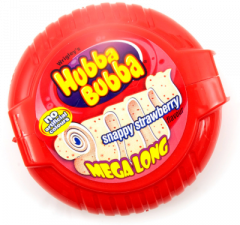 Hubba Bubba Strawberry Mega Long Tape