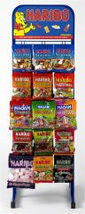 Haribo 15 Peg Stand & Contents