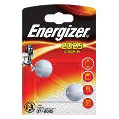 Energizer Lithium Batteries CR2025 2pk