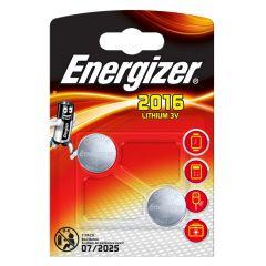 Energizer Lithium Batteries CR2016 2pk
