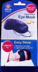 Sure Travel Eye Mask & Ear Plugs