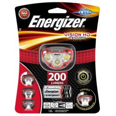 Energizer LED Vision HD Red Headlight +3AAA