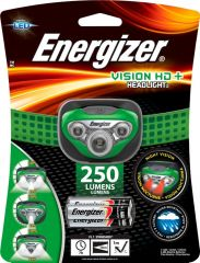 Energizer LED Vision HD+ Green Headlight +3AAA