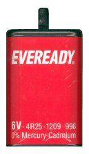 Eveready Battery PJ996 6V 4R25