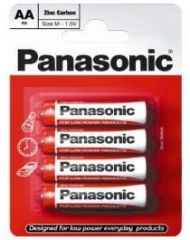 Panasonic Special Zinc Batteries AA Card of 4