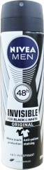 Nivea Anti-Perspirant Deodorant Black & White Clear For Men 150ml