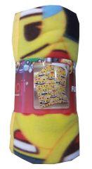 Emoji Faces Fleece Blanket 100cm x 150cm