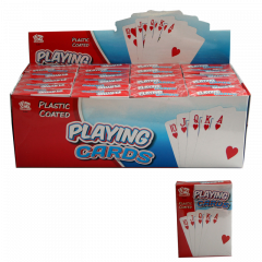 Playing Cards in Display