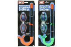Goggle & Snorkel Set