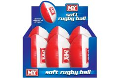 """Soft Rugby Ball 9"""""""