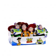 Toy Story - Assorted 8 Inch Plush in CDU- Woody, Buzz, Jess