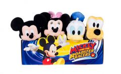 Mickeys Big Head Smilers Small 4 Assorted Plush - Micky, Minnie, Donald, Pluto