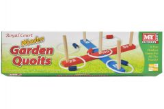"Wooden Garden Quoits In Colour Box - ""M.Y"""