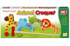"Animal Croquet in Colour Box - ""M.Y."""