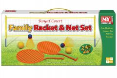 "Family Racket and Net Set in Colour Box - ""M.Y."""