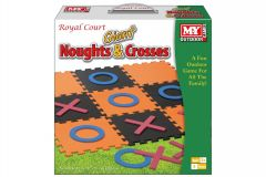 "Giant EVA Noughts & Crosses Game in Colour Box - ""M.Y."""