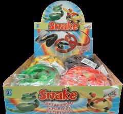 70cm Stretch Snake Assorted Designs in CDU