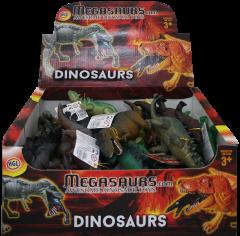 Dinosaur Set 15-21cm Assorted Designs in CDU