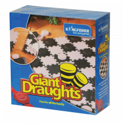 Kingfisher Giant Draughts Game