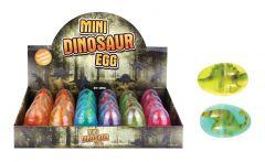Mini Dino Egg in Putty 6cm Assorted Colours in CDU