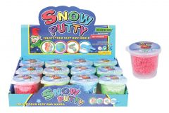 Bouncing Snow Putty Assorted Colours in CDU