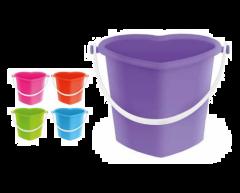 Heart Bucket Assorted Colours