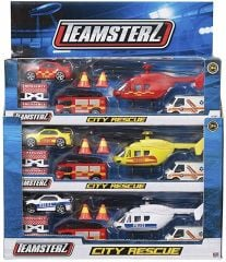 Teamsterz City Rescue Boxed Assorted Designs CDU